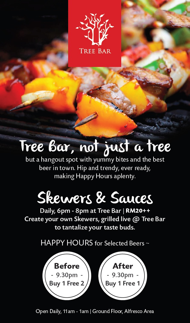 Buy 1 Free 2 Promotion @ Tree Bar, G Hotel @ Gurney Plaza, Penang (28)