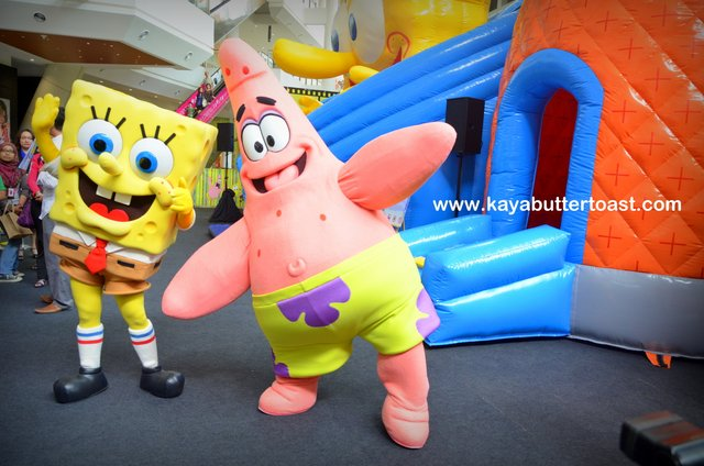 Celebrate Holiday With SpongeBob SquarePants in Gurney Paragon Mall (6)