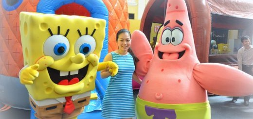 Celebrate Holiday With SpongeBob SquarePants in Gurney Paragon Mall (8)