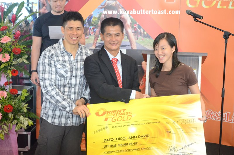 The Launching of Orient Fitness Gold @ Gurney Paragon Mall, Gurney Drive, Penang (23)