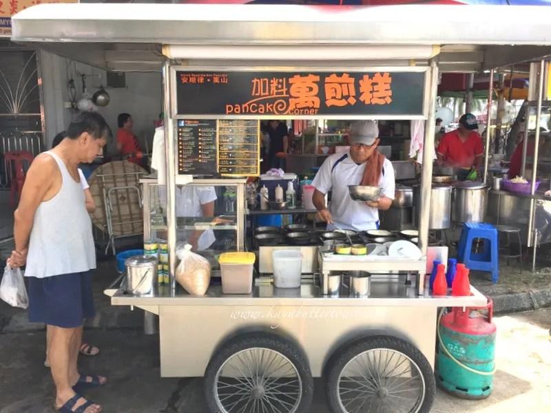 Pancake Corner 加料万煎羔 @ In Front Joo Huat Restaurant, Perak Road, Penang (1)