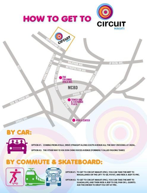 Cicuit Map