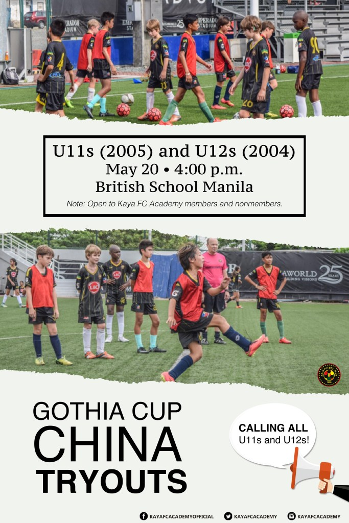 Gothia Cup China Tryouts Poster 3 lq