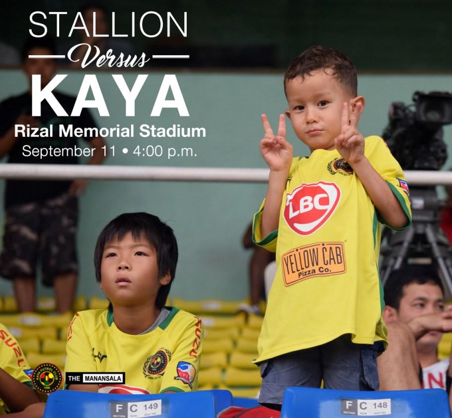 Stallion v Kaya Poster 1