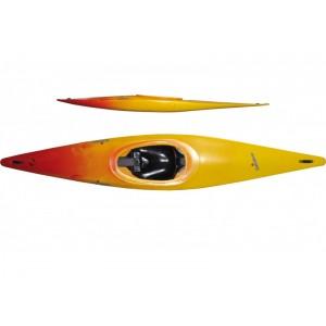 Kayak slalom rainbow