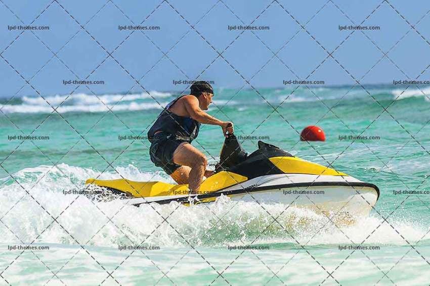 Wave Runner Turns Fast
