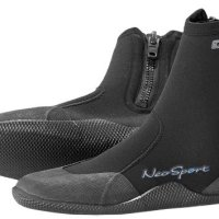 NeoSport Wetsuits Premium Neoprene 3mm Hi Top Zipper Boot