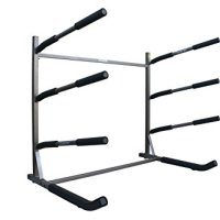 Stoneman Sports G-200 Glacik Freestanding SUP Storage Rack System, Bronze