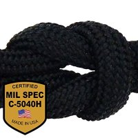 MilSpec Paracord / Parachute Cord. 8 or 11 Strand, 600 or 800 lb. Break Strength. Guaranteed Military Specification Compliant, 550 or 750 Survival Cord, Made in USA. 2 EBooks & Copy of MIL-C-5040H