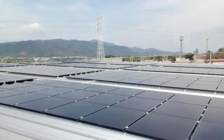 太陽光発電パネル ストックヤード 豊川営業所 - 1