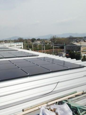 太陽光発電パネル ストックヤード 豊川営業所 - 2