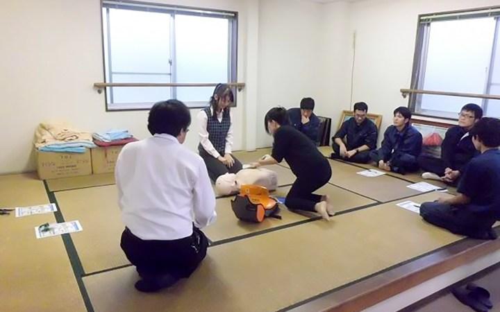 豊川営業所 AED講習 - 2