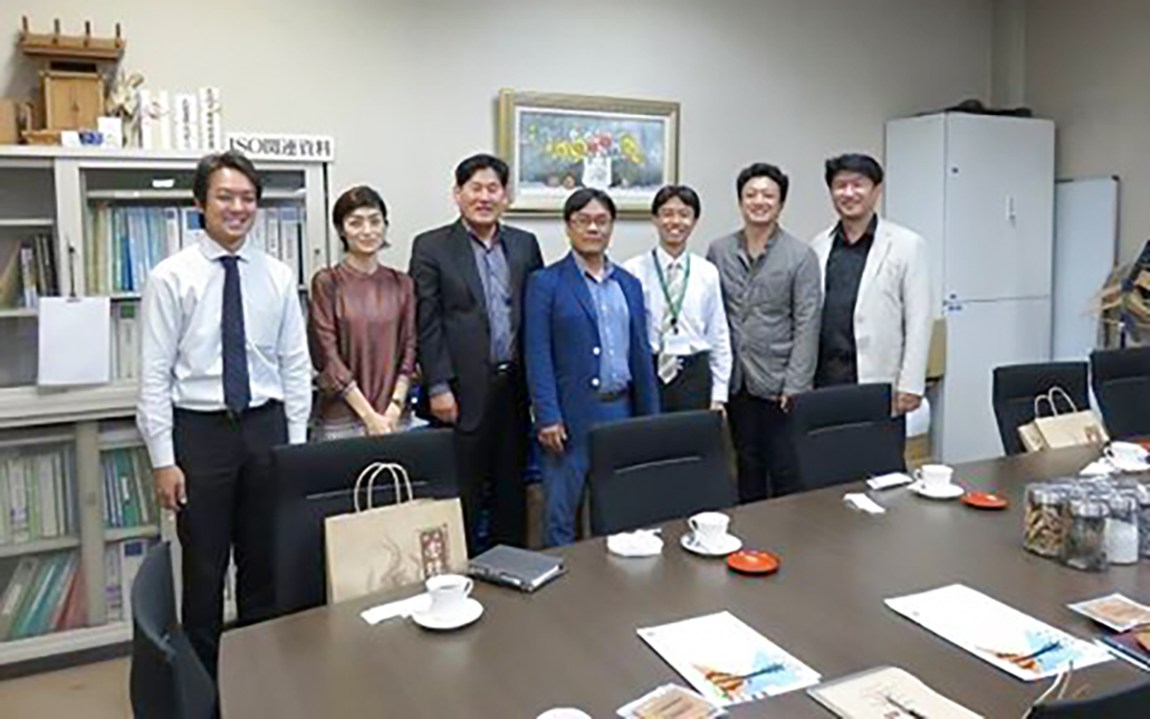 Mokwon University 韓国 視察 工場見学