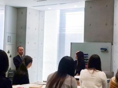 インターンシップ事後研修成果報告会 名城大学