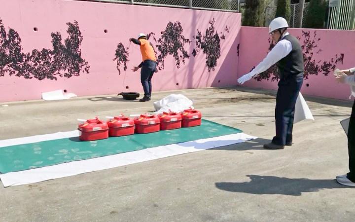加山興業 豊川工場 災害対策 防災訓練