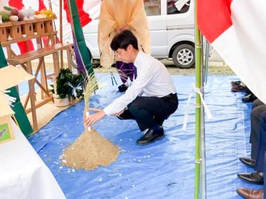 廃棄物処理 リサイクル 加山興業 新社屋 地鎮祭