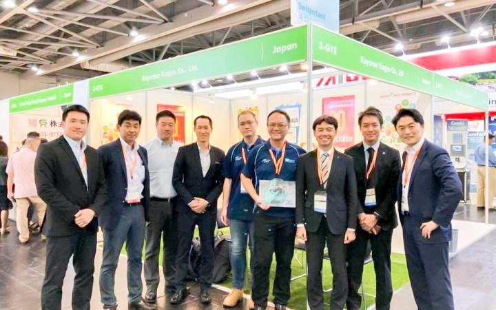 ECO Expo Asia 2018 香港 ハイブリッド 重機