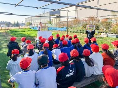 CSR活動 小学校 環境授業