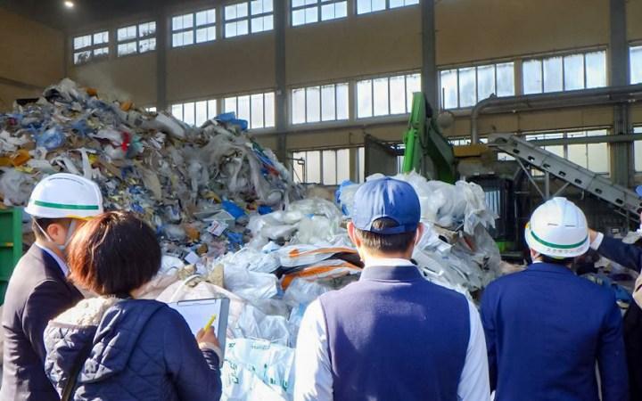 愛知県 産業廃棄物処理 ゴミ処理 リサイクル ラオス政府 工場見学