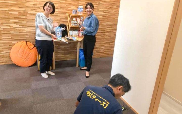 防災用品 ティーズHOTステーション 豊橋ケーブルテレビ 愛知県 豊橋市
