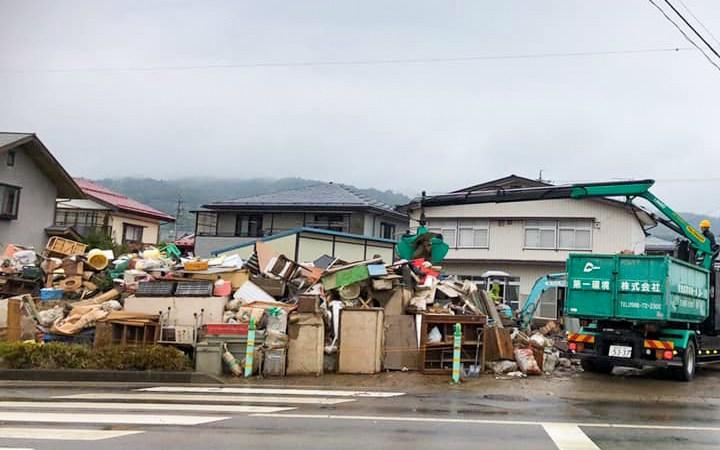 全国清掃事業連合会 長野県 被災地支援活動