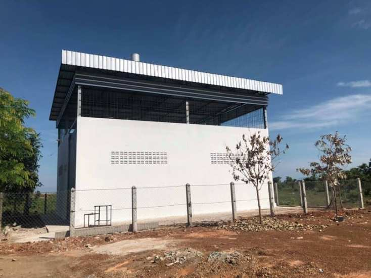 lao youth radio fm JICA ラオス ビエンチャン 焼却設備 譲渡式