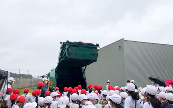 愛知県 豊川市 工場見学 子ども 小学生 環境教育