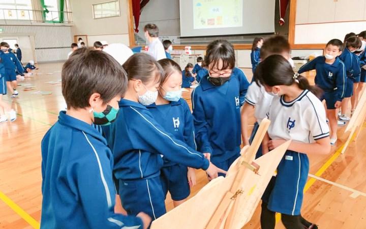 愛知県 豊川市 環境授業 小学校 豊小学校