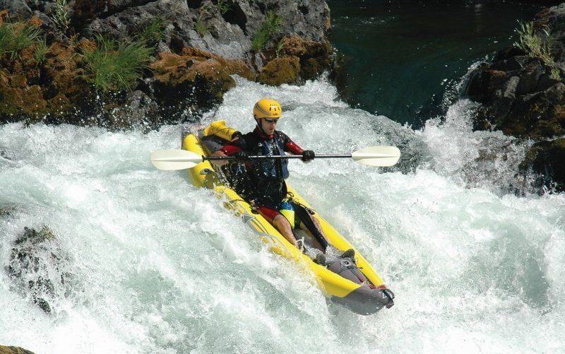 #8 Best Inflatable Fishing Kayak Reviews [Updated]