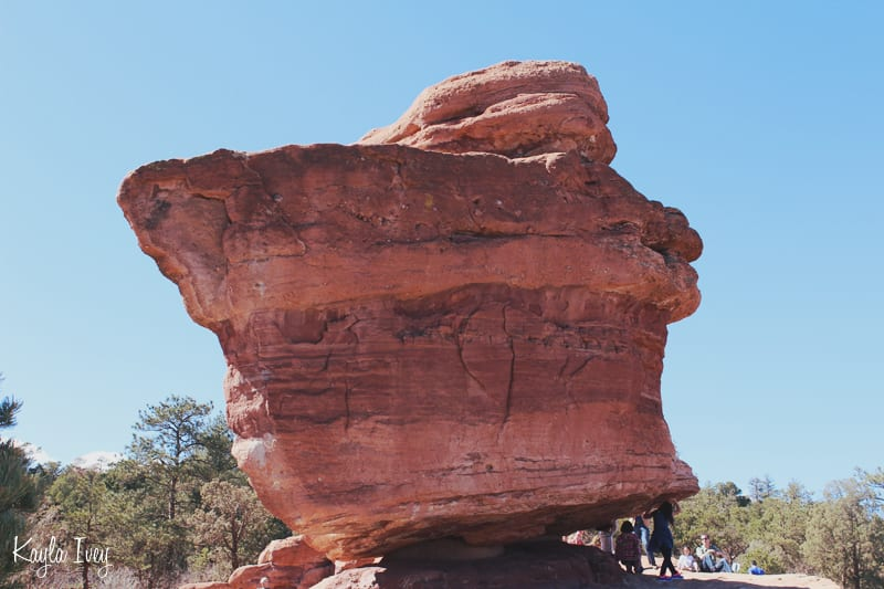 Colorado Springs Red Rock Balanced Rock