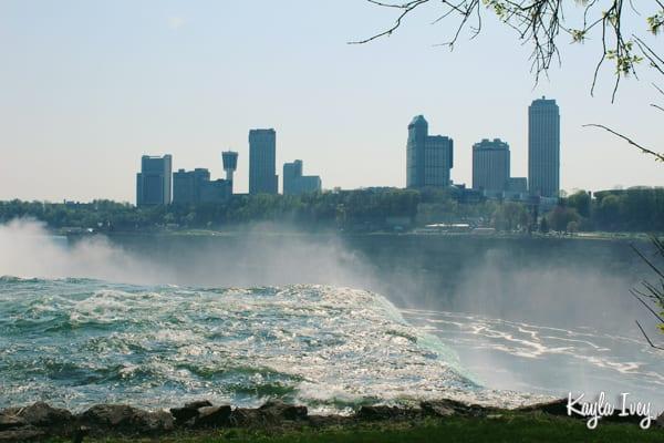 Niagara Falls Canada Skyline