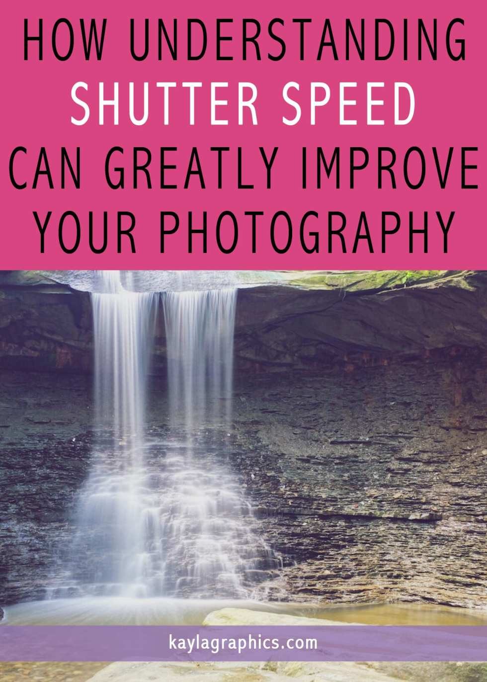 how understanding shutter speed can greatly improve photography