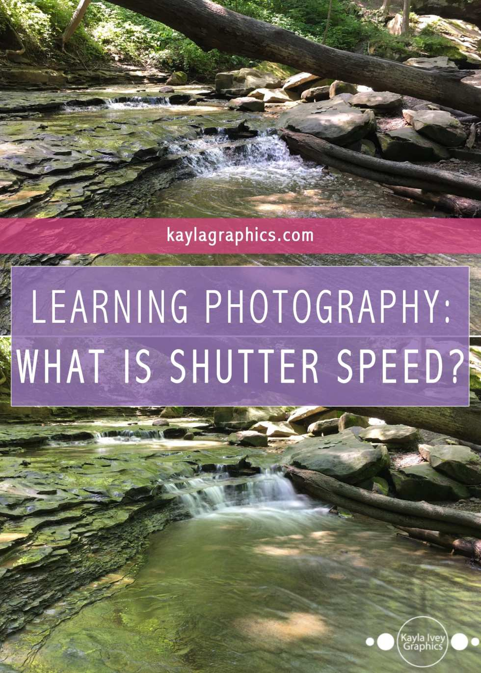 learning photography what is shutter speed