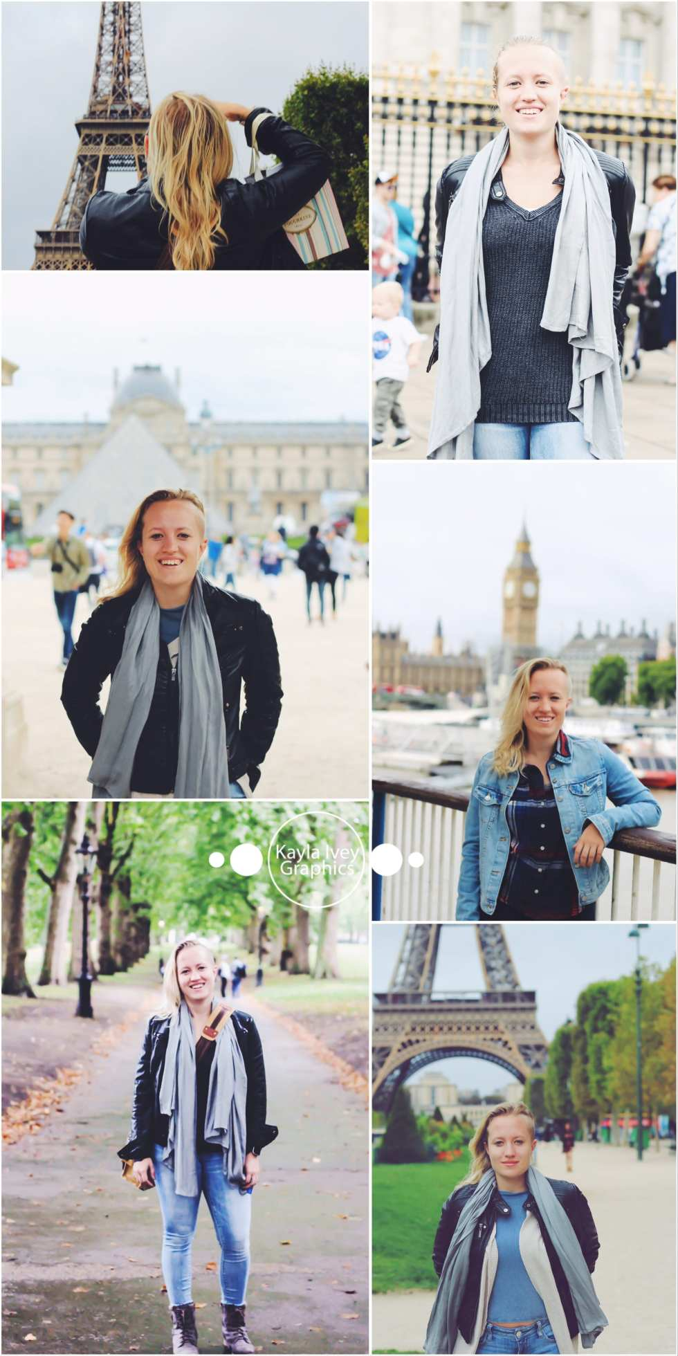 Lea Travel Portrait Session London Paris