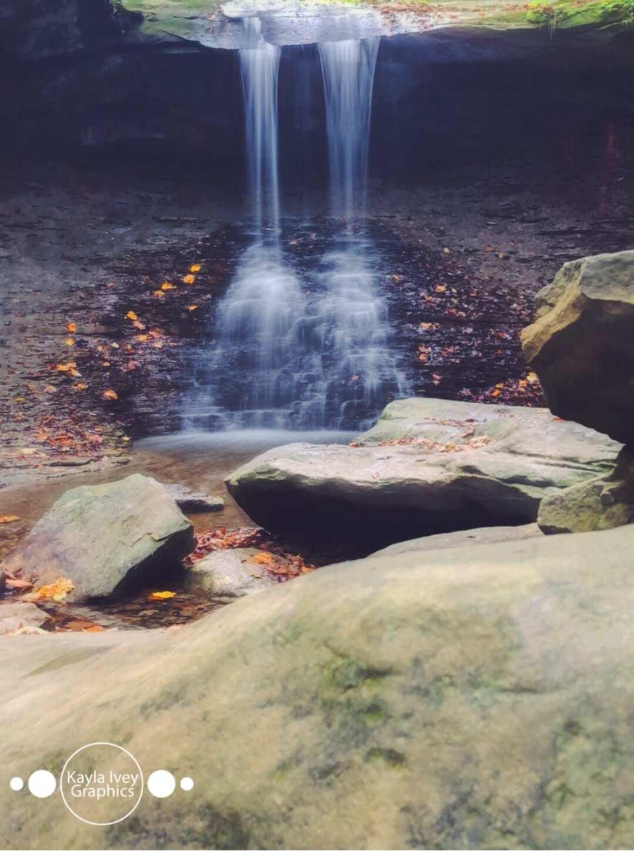 Blue Hen Falls Slow Shutter Nature Photography