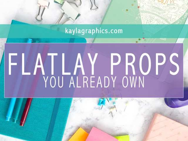 Flatlay Props You Already Own