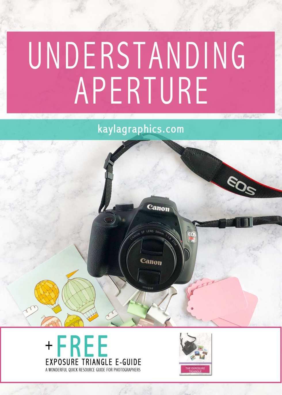 Understanding Aperture plus free guide
