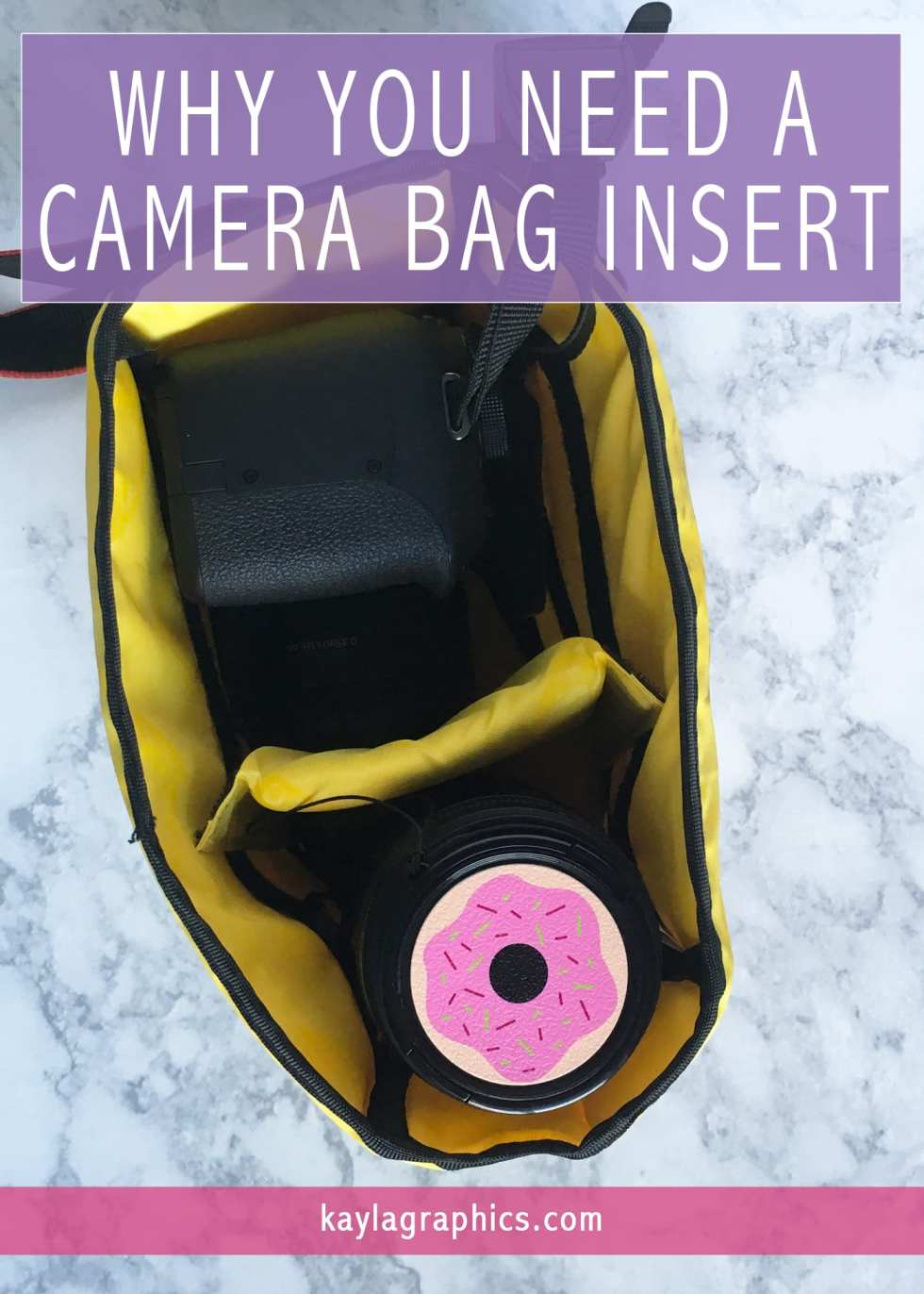 why you need camera bag insert