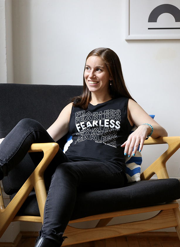 fearless muscle tank top