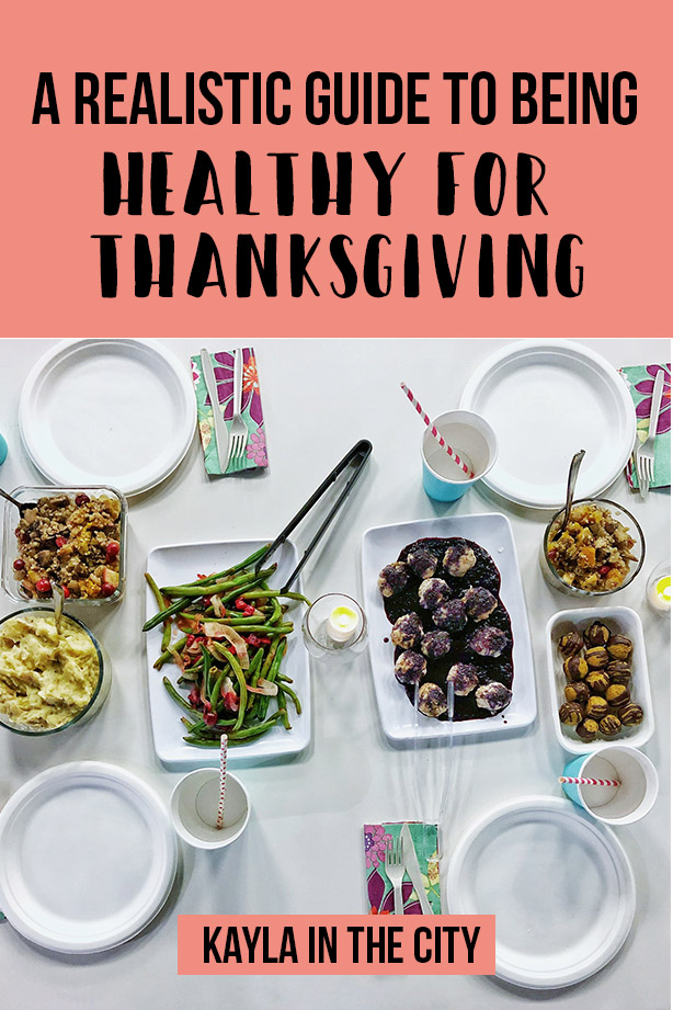 healthy thanksgiving hacks