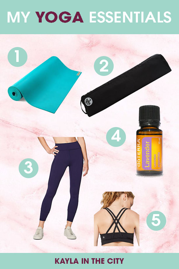 yoga essentials | favorite yoga products | best yoga mat | what you need for yoga