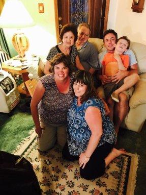 Jill Hetrick with her family