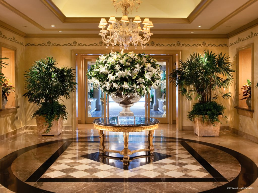 Four Seasons 5 Star Hotel Los Angeles  Interior Design