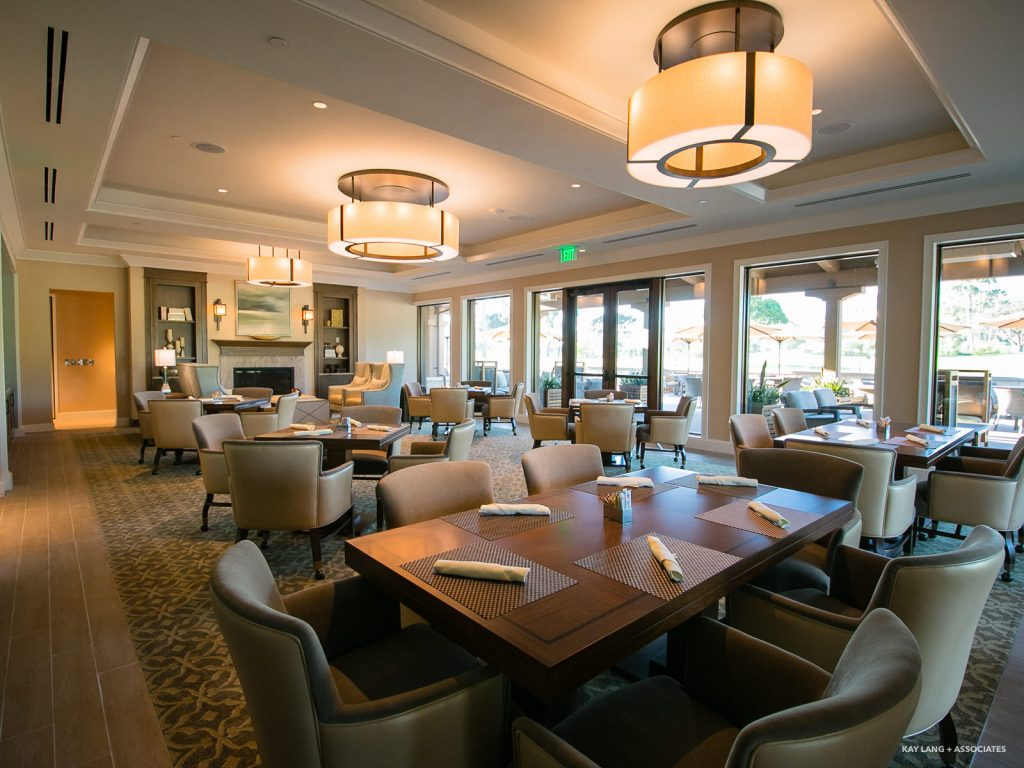 Newport Beach Country Club  Interior Design New Build