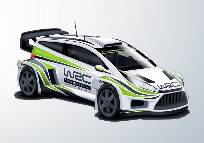 The rally car of the future