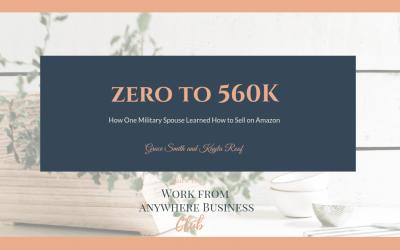 Zero to 560K Selling on Amazon