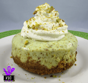 Instant Pot Mini Pistachio Cheesecake