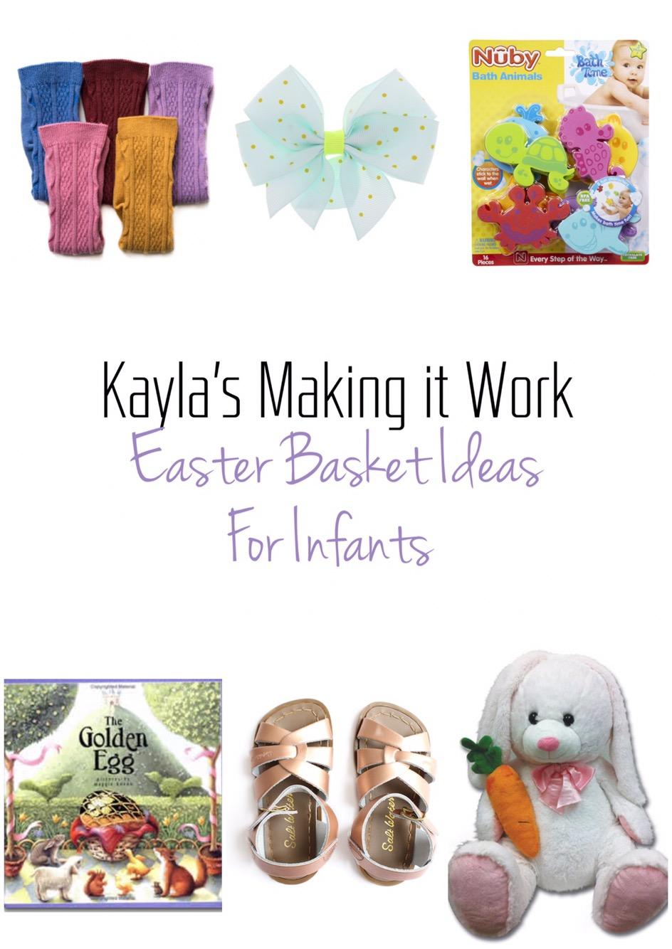 Easter basket ideas easter basket ideas infant negle Image collections