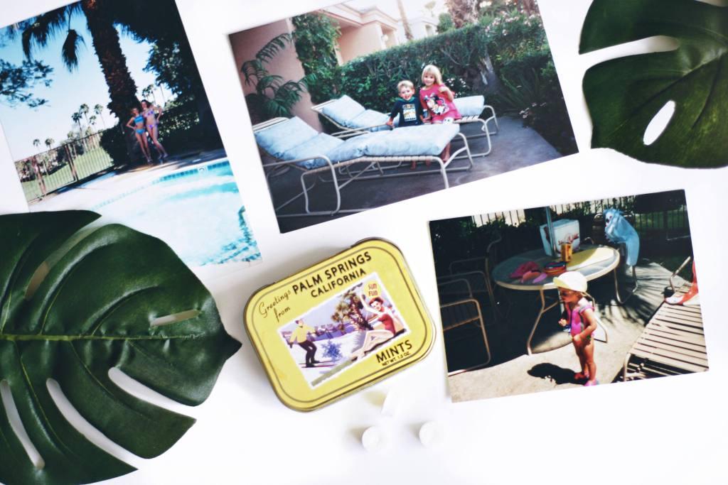 Travel - Palm Springs Childhood Photos