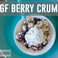 Quick & Easy Gluten Free Berry Crumble | You'll never guess its GF!!